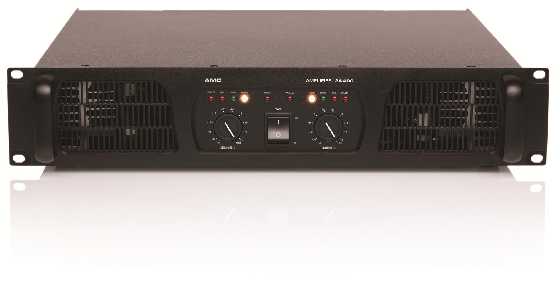 专业功放(2x400w)-定阻式专业功放-amc广播,vaka音响
